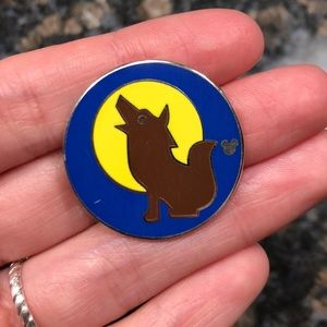 Disney Hidden Mickey Wolf Pin